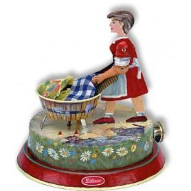 Wilesco 00830 Kvinna som tvättar M83