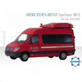 """Conrad 161102 Mercedes Benz Sprinter BF3 """"Scholpp"""""""
