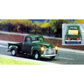 Busch 5643 Chevrolet Pickup, med belysning, med kabel, 14-16V DC eller AC