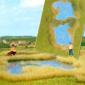 Busch 1312 Liten sjö med gräs