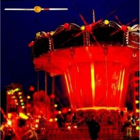 Busch 5985 Mini LED lampor, gula, 3 st