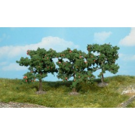 Heki 1160 Äppelträd, 3 st, 8 cm höga