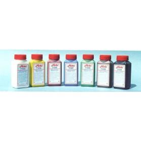 Heki 7107 Akrylfärg för underarbete, firnblå, 200 ml i flaska