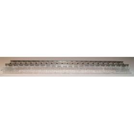 Märklin 20197 Rak skena, transparent special-skena för vitriner m.m., längd 188,3 mm