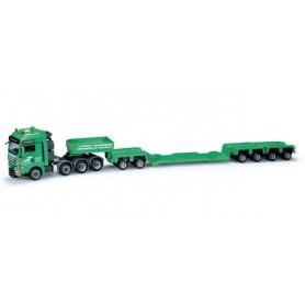 "Herpa 159494 MAN TGX XXL low boy semitrailer ""Trost"""