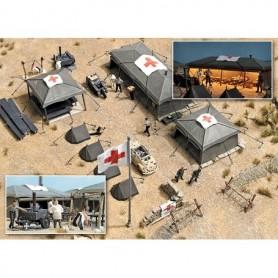 Busch 9605 Militärt Fältsjukhus