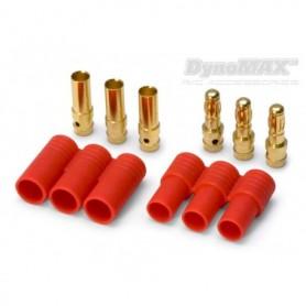 DynoMAX B9559 Bullet kontakt 3-Pol 3.5 mm, 1 par