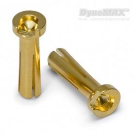DynoMAX B9568 Hankontakter för bil, 4 mm, 10 st