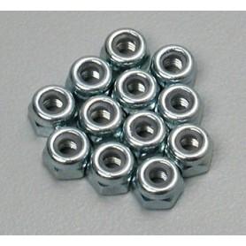 Traxxas 2745 Låsmutter 3 mm, 12 st