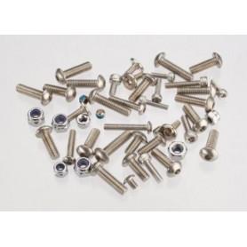 Traxxas 5746 Hardware-set för Spartan, rostfritt stål