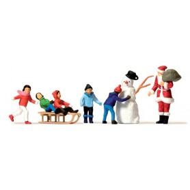"""Preiser 10626 Jultomten """"Father Christmas"""""""