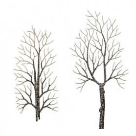 Busch 6158 Vinter lövträd, 4 st
