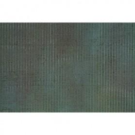 Noch 56012 Korrugerad eternit, vädrad, 1 mm tjock, mått 20 x 11 cm