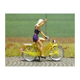 "Bicyc Led 878006 Cykel med belysning ""Blond tjej"""