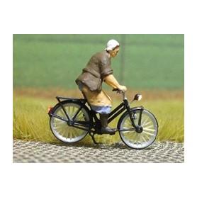 "Bicyc Led 878007 Cykel med belysning ""Bondens fru"""