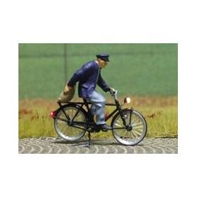 """Bicyc Led 878009 Cykel med belysning """"Man med en potatissäck"""""""