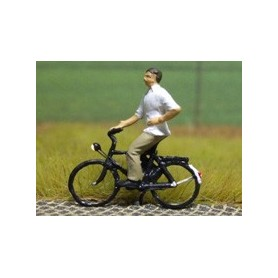 "Bicyc Led 878031 Cykel med belysning ""Man"""