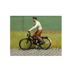 """Bicyc Led 878032 Cykel med belysning """"Kvinna med blus och kjol"""""""