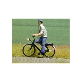 """Bicyc Led 878034 Cykel med belysning """"Man med keps och t-shirt"""""""