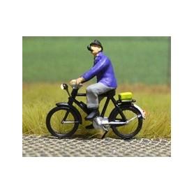"Bicyc Led 878091 Cykel med belysning ""Man med pipa"""