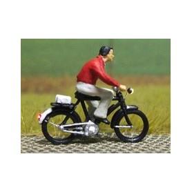 """Bicyc Led 878092 Cykel med belysning """"Man med pullover"""""""