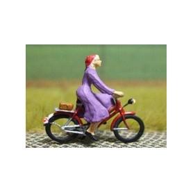 """Bicyc Led 878095 Cykel med belysning """"Kvinna med klänning"""""""