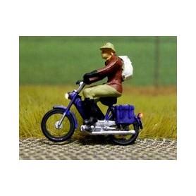 """Bicyc Led 878203 Motorcykel med belysning """"Man med ryggsäck"""""""