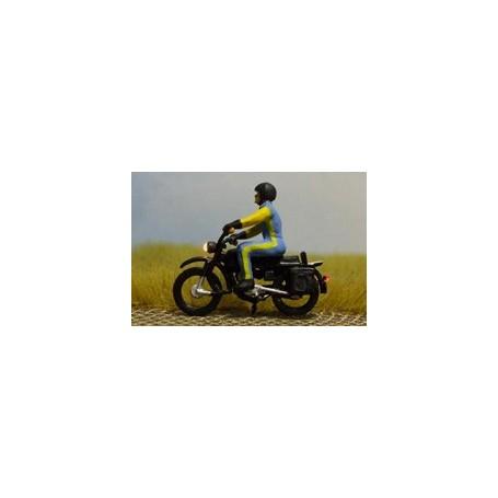 """Bicyc Led 878402 Motorcykel med belysning """"Man med motorcykelställ"""""""