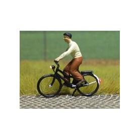"""Bicyc Led 168032 Cykel med belysning """"Kvinna med blus och kjol"""""""