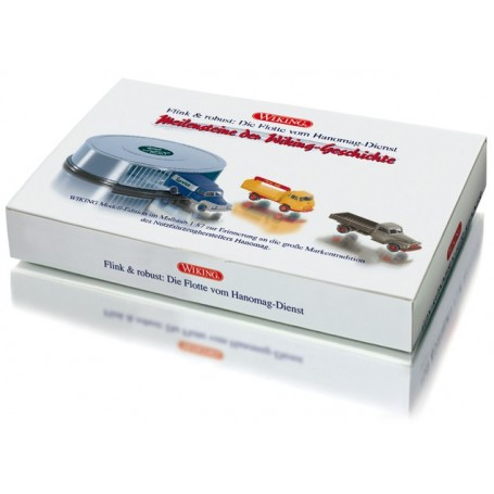"""Wiking 99078 Set """"Circuit garage Hanomag service"""""""