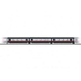 """Trix 24809 Personvagnsset med 3 st utbyggnadsvagnar för 22809 """"Senator"""""""