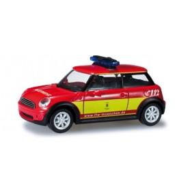 """Herpa 049801 Mini Cooper™ """"Fire Department Munich"""""""