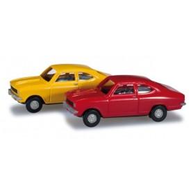 Herpa 065979 Set Opel Kadett B Coupé, 2 st