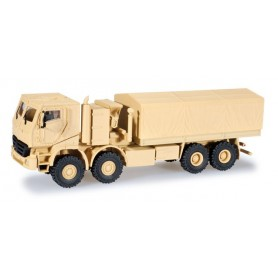 Herpa 743952 Mercedes Benz Actros with canvas, armoured
