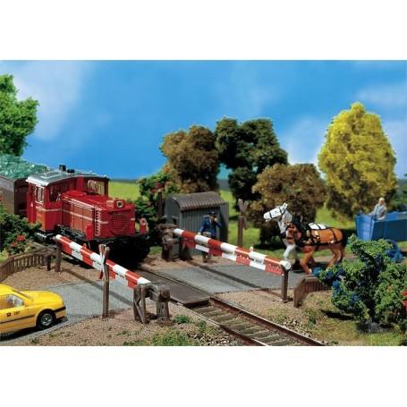 Faller 120173 Bevakad järnvägsövergång