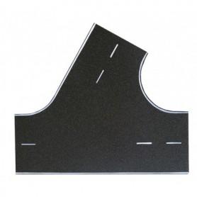 Vollmer 8262 Street plate asphalt, 60°-intersection, L 22 x W 19,5 cm