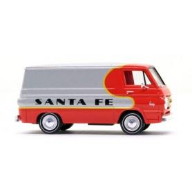 """Brekina 34355 Dodge A-100 Van """"Santa Fe"""", TD"""
