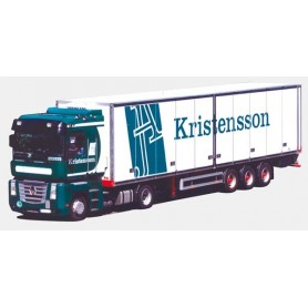 "AMW 53550 Renault Magnum Bil & Kyltrailer ""Kristensson"""