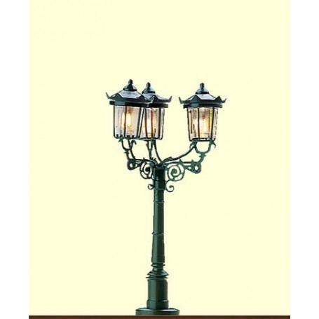 Brawa 4525 Parklampa, trearmad, 1 st, höjd 50 mm