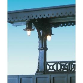 Brawa 5536 Plattformslampa, för montering i taket, 1 st, höjd 75 mm