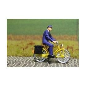 """Bicyc Led 878008 Cykel med belysning """"Tysk Brevbärare"""""""