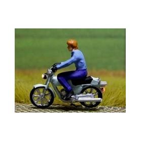 """Bicyc Led 878303 Motorcykel med belysning """"Man utan hjälm"""""""