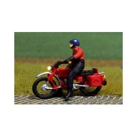 """Bicyc Led 878401 Motorcykel med belysning """"Man med Motorcykeställ och hjälm"""""""