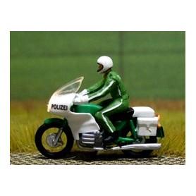 "Bicyc Led 878801 Motorcykel BMW med belysning ""Tysk Polis"""