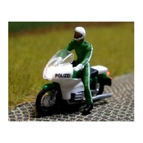 "Bicyc Led 878802 Motorcykel BMW med belysning ""Tysk Polis"""