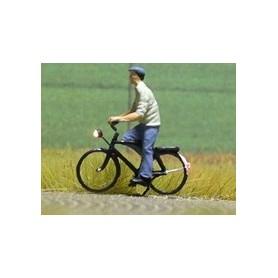 """Bicyc Led 168034 Cykel med belysning """"Man med keps och t-shirt"""""""