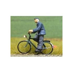 """Bicyc Led 168035 Cykel med belysning """"Äldre herre med mössa"""""""