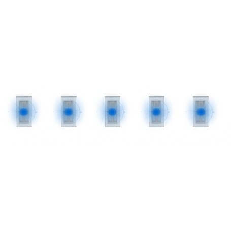 Faller 163751 5 SMD-LEDs, blue