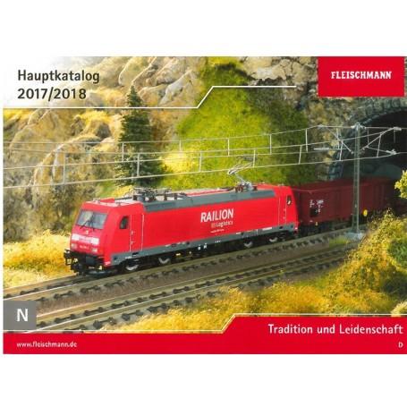 Fleischmann 990117 Fleischmann huvudkatalog N 1:160 2017/2018 Tyska