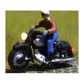 """Bicyc Led 168411 Motorcykel med belysning """"Man med glasögon"""""""